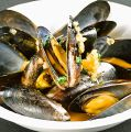 料理メニュー写真ムール貝のシェリー酒蒸し