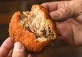 料理メニュー写真安曇野放牧豚のメンチカツ