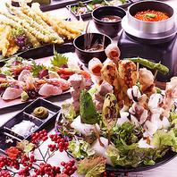 宴会コース、食べ放題が2500円~お楽しみいただけます!!