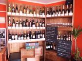 フロアに約40種のワイン!!自分でチョイス♪