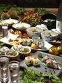 鎌倉野菜を使用したコースの数々をお楽しみください。