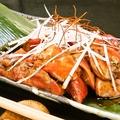 料理メニュー写真赤鶏の極上レバー焼き