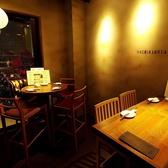 【女子会など】2~3名様のテーブル席も充実♪ご予約時にお伝えください♪