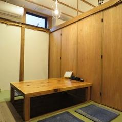 掘りごたつ半個室席は4・4・6名様の3タイプ。