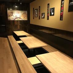 少人数から大人数まで用途に合わせてお席をご案内いたします♪合コンや飲み会にも最適!
