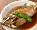 料理メニュー写真本日の煮魚はカワハギ、鰈