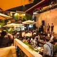 新宿最大級♪異国情緒溢れる大型宴会可能なスペース。その他完全貸切個室(TVモニター、カラオケ付き個室)もあり。