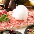 料理メニュー写真ラム肉のしゃぶしゃぶ
