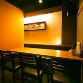 少人数のお客様にぴったりのお席ございます。洗練された大人の空間がお客様を癒します。(新橋/個室/居酒屋)