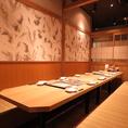 10名様以上もはなの舞 新潟長岡駅前店にお任せください♪会社での飲み会や接待、友人とのお食事やデートなど、ご利用シーンに合わせてお席をご案内させていただきます。