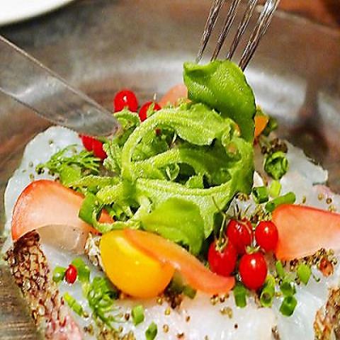 野菜にこだわる、健康・美容メニューが豊富。