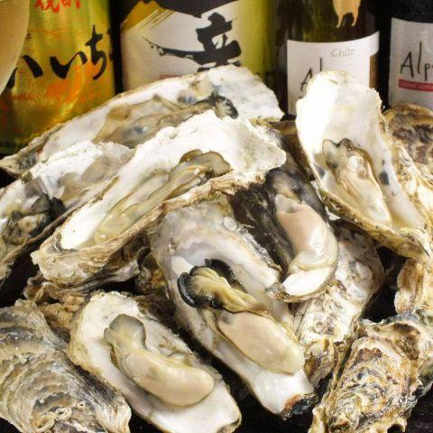 【要予約】かき小屋コース(牡蠣蒸し焼き) 食べ放題 120分 LO30分前【2020年1月〜】
