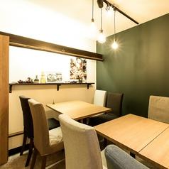 大人気のテーブルは店内奥に位置するお席です。予約必須ですのでお早めに(^^♪