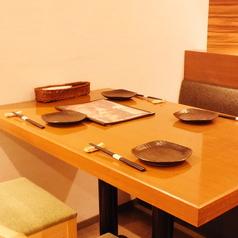 【お子様連れ歓迎】テーブルタイプのお席はお子様連れやご家族でのお食事に◎