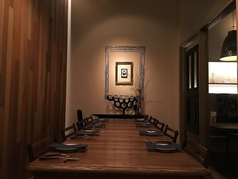 6名様~12名様まで宴会可能な個室がおすすめ