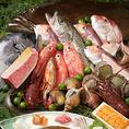 【割鮮】素材にこだわった海鮮料理をお楽しみください!