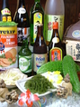 もと沖縄に住んでいた店長が仕入れる食材はどれもこだわっています!