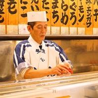追力の職人握り!こだわり寿司を満足ゆくまで…