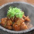 料理メニュー写真石焼ジュージュー鶏甘