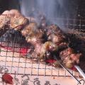 料理メニュー写真黒焼き ~黒薩摩地鶏の炎焼き~(1本)