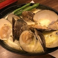 料理メニュー写真山盛り蛤(はまぐり) Mサイズ