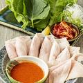 料理メニュー写真ポッサム (蒸し豚キムチ)