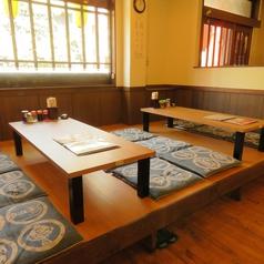 【座敷席】6名様テーブルを2卓ご用意しておりますので、宴会にもオススメです◎