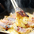 料理メニュー写真黒豚餃子フォンデュ