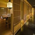 全席完全個室・寛ぎの空間で世界に誇る「神戸牛」を・・・