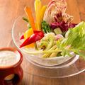 料理メニュー写真季節野菜のバーニャカウダ