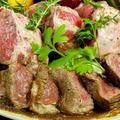料理メニュー写真最高級品質のリブロールビーフステーキ≪ビステッカ≫