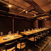 宴会に大人気◎最大35名様までご利用可能!一列の長い個室です。こちらのお席は予約ですぐ埋まってしまいますので、お早めにお問い合わせ下さい。