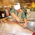 【毎日仕入れ】届いた魚は、活きがいいまま調理