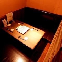 4名~6名前後の御宴会にはこちらのお席がオススメ☆6名席もあります!