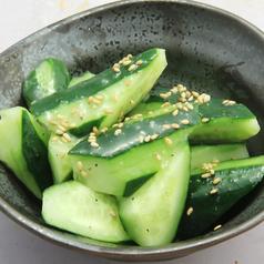 やみつきキューリ/枝豆/鶏皮ポン酢/豆もやしのナムル