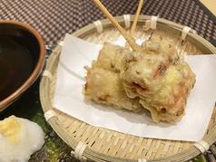 竹輪紅生姜串天ぷら