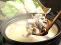料理メニュー写真若鶏の水炊き(1人前)