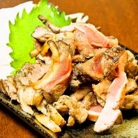 人気No1♪薩摩地鶏のタタキ