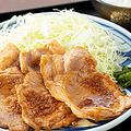 料理メニュー写真マテラ豚の生姜焼き定食