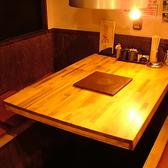 3~4名様から座れるテーブル席♪グループやご家族にも人気です♪ご予約はネット予約がオススメです♪