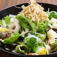 旬野菜十種サラダ~自家製玉ネギドレッシング~