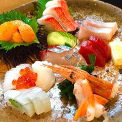 料理メニュー写真旬魚のお造り