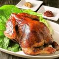 料理メニュー写真丸鶏のロースト コリアン風