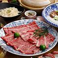 【肉匠】併設の最高級A5ランク牛専門の「肉匠 紋次郎」!煙の出ない無煙ロースターを導入し、新鮮な魚介料理とのコラボメニューもお楽しみいただけます!