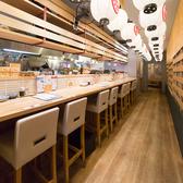 刺身と魚飯 FUNEYA 草津駅前店の雰囲気3
