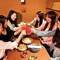町田満足度No.1!女子会にピッタリなコースやお得な飲み放題付きコースご用意しております♪