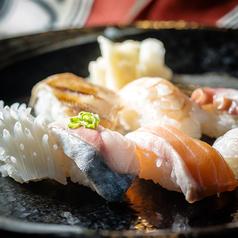 寿司7種盛合わせ