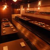 店舗貸切は最大92名まで☆お座敷貸切は最大40名までOK♪♪その他カウンター・テーブル・お座敷と様々なタイプのお席がございます!!