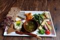 料理メニュー写真鎌倉野菜のブランチプレート
