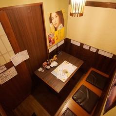 オンリーワンの個室席!